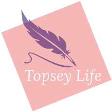 Pen, topsey life, writing, pink, purple