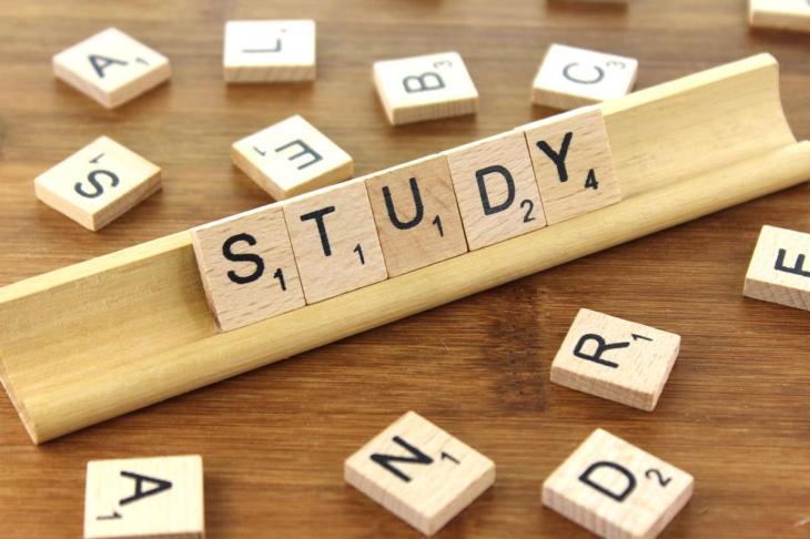 Study, scrabble, wood