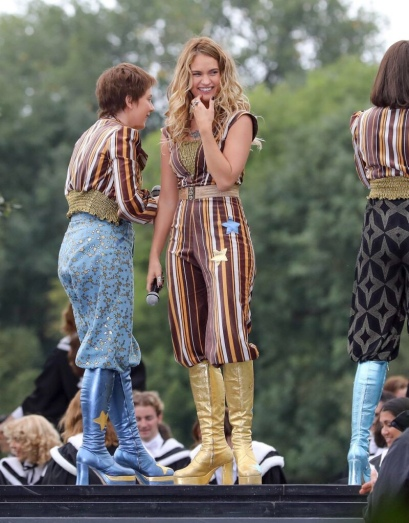 Mamma Mia jumpsuit, 70s, Lilly James
