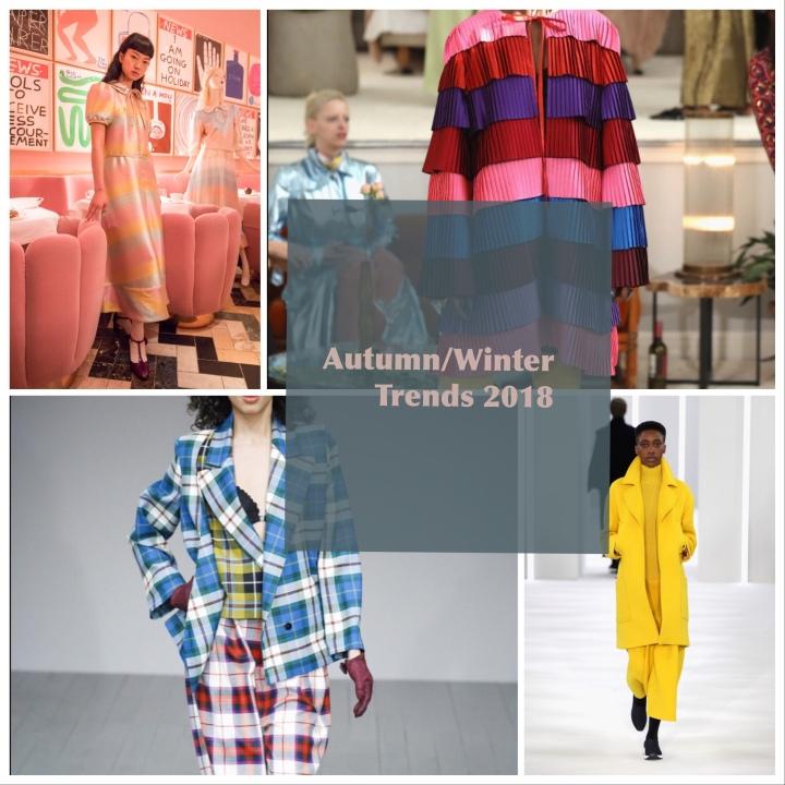 Autumn/Winter Trends 2018