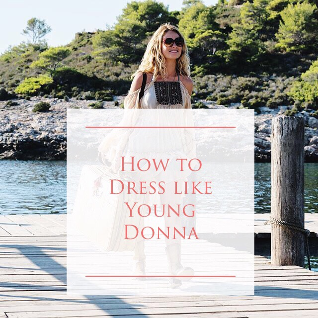 How to dress like young Donna (MammaMia)