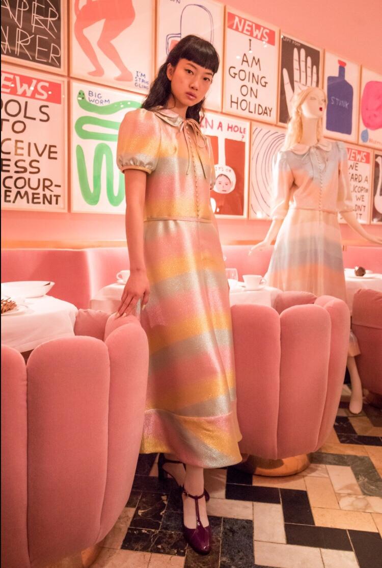 Ryan Lo Shine London Fashion Week Autumn/Winter 2018