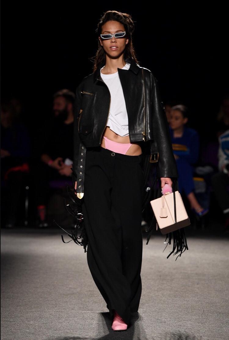Natasha Zinko Leather  London Fashion Week Autumn/Winter 2018