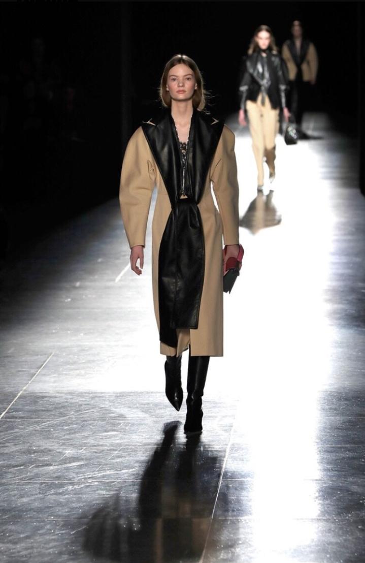 London Fashion Week Autumn/Winter 2018 Christopher Kane Leather