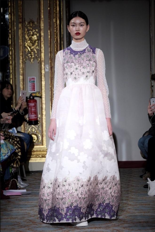 Huishan Zhang London Fashion Week Autumn/Winter 2018