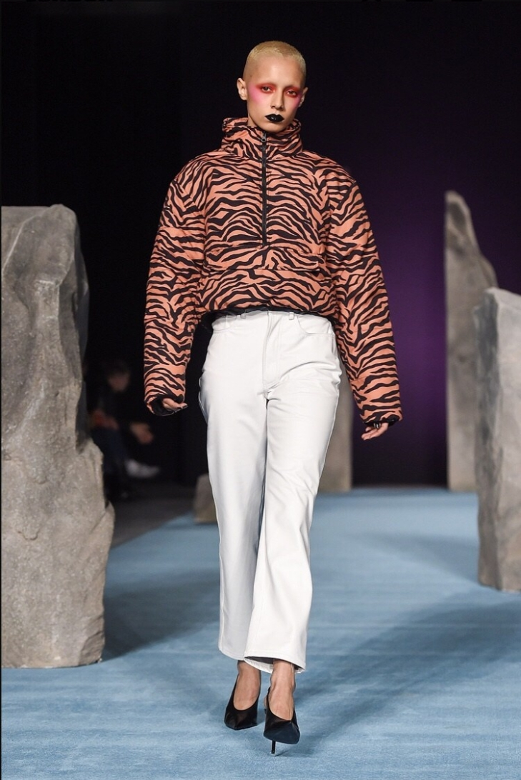 Ashley Williams Animal Print London Fashion Week Autumn/Winter 2018