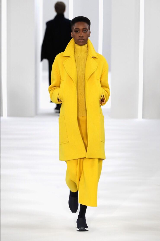 Jasper Conran London Fashion Week 2018 Yellow