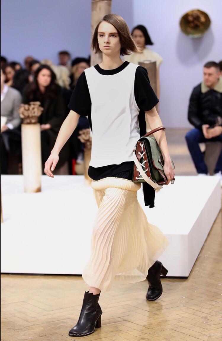 JW Anderson Pleats  London Fashion Week Autumn/Winter 2018