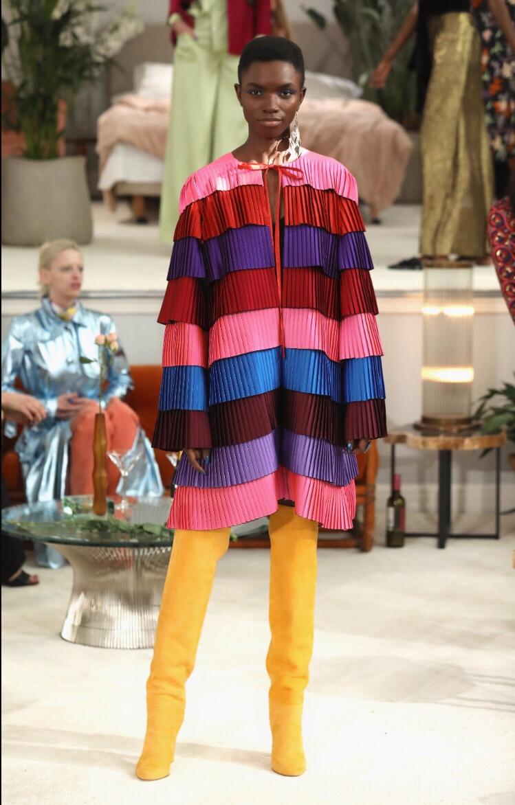 Osman Pleats London Fashion Week Autumn/Winter 2018