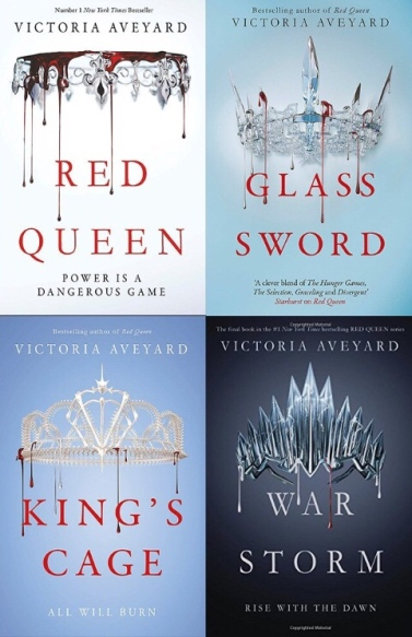 Red Queen Series: Book Review – Topsey Life
