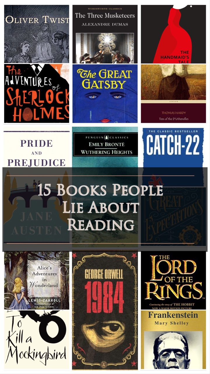 15 Books People Lie About Reading