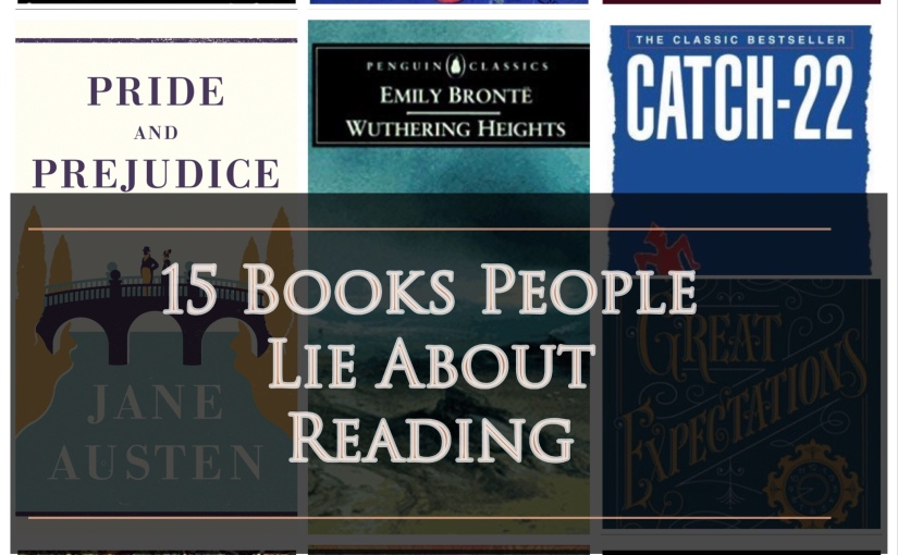 15 Books People Lie AboutReading